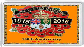 100th ANNIVERSARY 36th ULSTER DIVISION 1916 -2016
