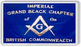 Loyalist Fridge Magnet -  IMPERIAL GRAND BLACK CHAPTER OF THE BRITISH COMMONWEALTH