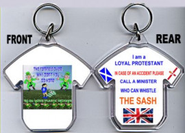 Loyalist T-Shirt Key-Ring/The Famine Is Over