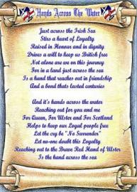 Hands Across The Water - Lyrics Scroll