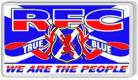 Loyalist Fridge Magnet - R.F.C WE ARE THE PEOPLE