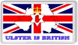 Loyalist Fridge Magnet - ULSTER IS BRITISH