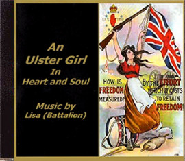 LISA - AN ULSTER GIRL IN HEART and SOUL  -    Music by Lisa (Battalion)